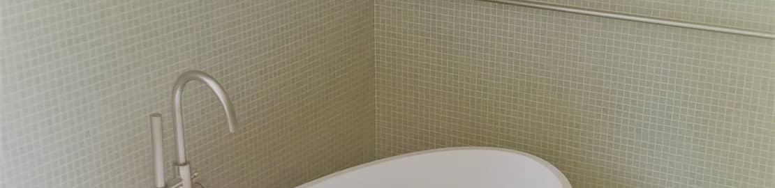 Badkamer in mozaik