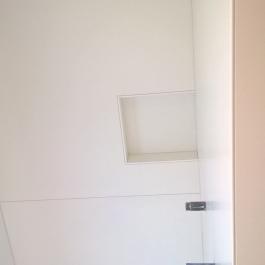 Badkamer in tegels 1,00 x 1,00 m
